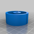 06762df136f7e74f26fb3a7045a3264b.png Download free STL file Paint roller adapter/spacer Ø - 47mm / 8mm or 6mm • 3D printing object, lelfdajkini