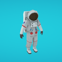 Capture d'écran 2018-01-11 à 14.18.02.png Descargar archivo OBJ gratis Astronauta • Modelo imprimible en 3D, Colorful3D
