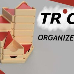IMG_0011.jpg Download free STL file Trio Organizers • Template to 3D print, Cisco3D