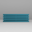 bancB4.png Download STL file Simple Bench for AP • Template to 3D print, BorrusoStudio