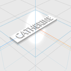 CATHERINE.png Download STL file CATHERINE letters • 3D printing model, 3D_Names