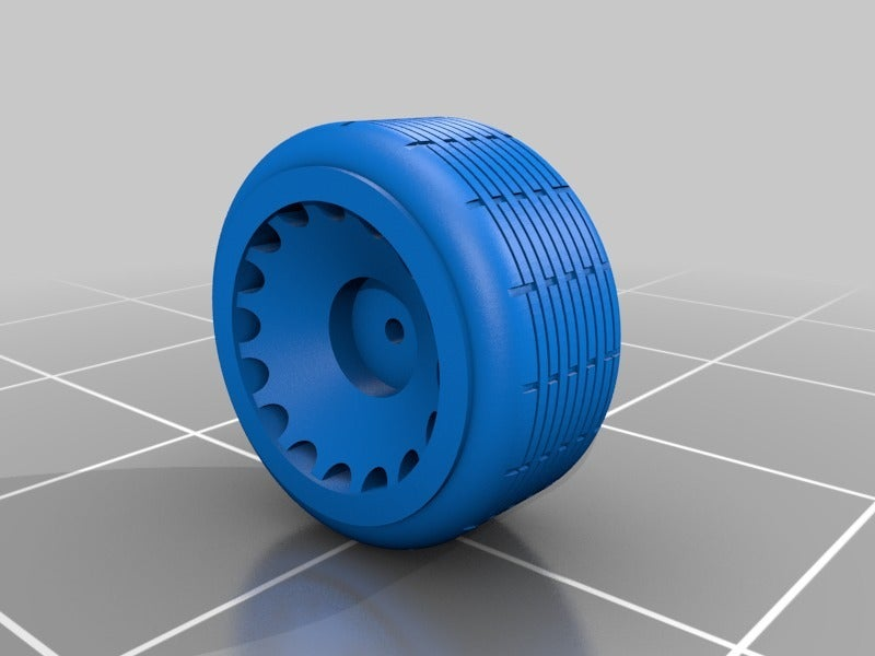 ae79a1fbb1dff42995ae2aa7ccf3802f.png Download free STL file Random Wheels - 1:64 Scale • 3D printable design, NJD13