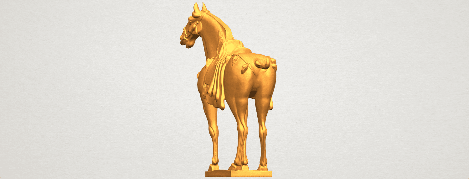 A03.png Download free STL file Horse 08 • Design to 3D print, GeorgesNikkei