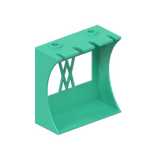 089_02.jpg Download STL file Stand for 6pcs Screwdrivers ENSURE 089 I Table Stand • Template to 3D print, Wiesemann1893