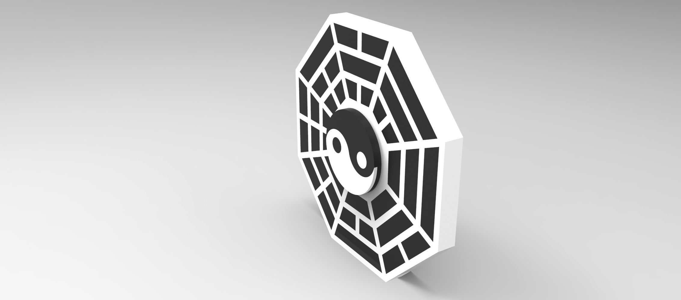 untitled.885.jpg Download STL file Hand Spinner Yin Yang • 3D printing model, Guich