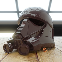Capture d'écran 2016-12-13 à 16.44.04.png Download free STL file Death Trooper (AWT Trooper) Full Scale Helmet (Rogue One) • 3D printer object, Geoffro