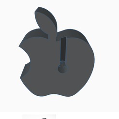 support de smartphone apple _ Tinkercad - Google Chrome 14_04_2020 21_44_16.png Download free STL file apple phone cradle • 3D printer model, billy_and_co_official