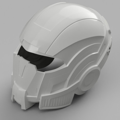 Capture d'écran 2017-09-14 à 14.59.55.png Download free STL file Mass Effect N7 Breather Helmet • Template to 3D print, VillainousPropShop