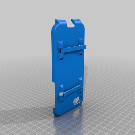 Dual_stand_iphone_SE__8_case.png Download free STL file iphone SE or 8 case • 3D printer object, morrisblue
