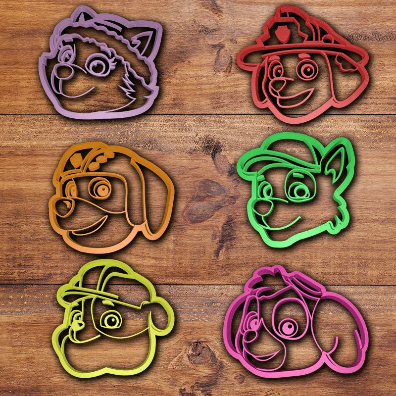 Todo.png Download STL file All high detailed cookie cutter sets (+150 cookie cutters) • 3D printer model, davidruizo