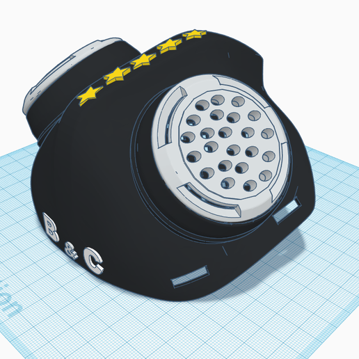 3D design Funky Hillar _ Tinkercad - Google Chrome 16_04_2020 22_03_37.png Download STL file masque covid 19 • 3D print object, billy_and_co_official