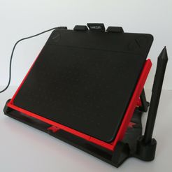 IMG_2394.jpg Download free STL file Drawing tablet stand • Template to 3D print, EL3D