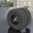 """0057.png Download STL file WHEEL FOR CUSTOM TRUCK 02A-""""BADASS"""" R3 (FRONT AND DOUBLED BACK) • 3D printer object, Pixel3D"""