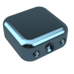 glace cadena v30.png Download STL file Ice cube padlock • Template to 3D print, iTq