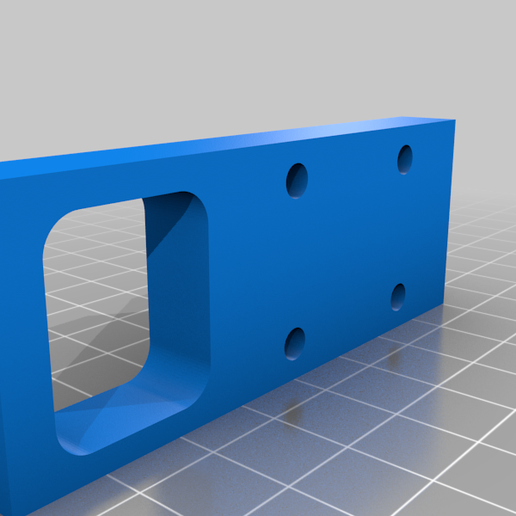 Block_back.png Download free STL file 3018 upgraded X and Z-axis • 3D printer template, Snakedad