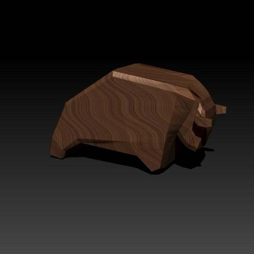cow.jpg Download free STL file cow • 3D printing object, HuangAro