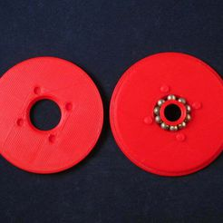60mm_bearing.jpg Descargar archivo STL gratis Tinkeriffic BB Bearing 60mm Spool Spindle • Diseño imprimible en 3D, Zheng3