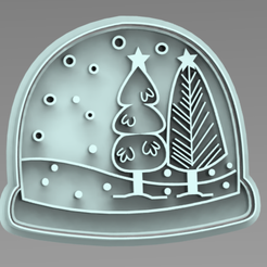 BOLA (2).PNG Download free STL file cutter + snowball marker • 3D printable object, ideas3djrz