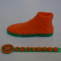 Capture_d__cran_2015-03-30___17.08.06.png Download free STL file Converse All Star shoe and logo • Object to 3D print, leFabShop