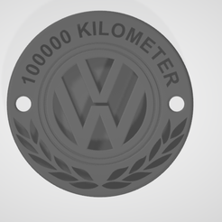 Screenshot-2021-03-17-150120.png Download STL file VW 100000km Emblem • 3D printer object, kasperdaems