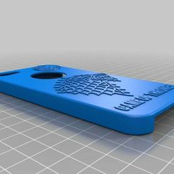 iphone_5_case_game_of_thrones_v3_relieve.jpg Download free STL file Iphone 5 case Game of Thrones v3 relieve • 3D printing design, NeoTech76