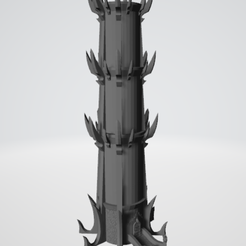 Screenshot_21.png Download free STL file Dark Elf Tower for Warhammer • 3D printer model, Sinzaren