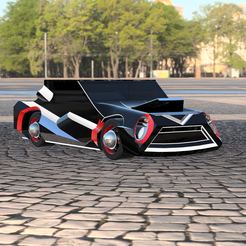 csdzx.PNG Download STL file Luxury Sport Car Model • 3D printing template, ClawRobotics