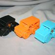 CarCollection.jpg Download free STL file Rubber Band Powered Car Collection • 3D printer model, Liszt