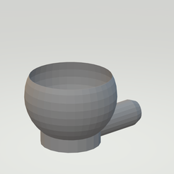 Untitled.png Download STL file food scoop • 3D printing template, cremedy