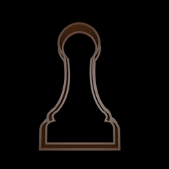 cookie_large.png Download free STL file Chess Cookie Cutter Pawn - Pawn Chess cookie cutter • 3D print object, mike21mzeb