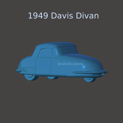 New Project(2).png Download STL file 1948 Davis Divan • Object to 3D print, ditomaso147