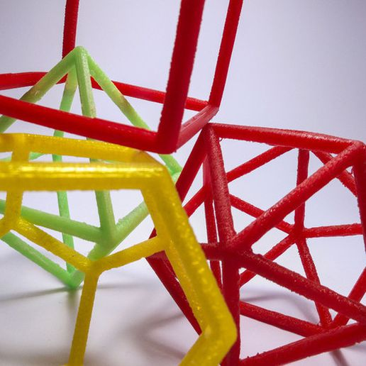 6131_Solidi_platonici_08_preview_featured.jpg Download free STL file Platonic solids - frame set • 3D printer object, piuLAB