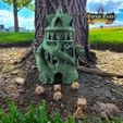DruidwithLogo.jpg Download STL file Druid Dice Tower - SUPPORT FREE! • 3D print object, Kimbolt
