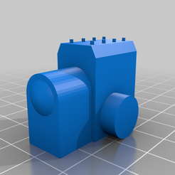 Artillery_cannon_Barrel_Rear.png Download free STL file Utility Truck Cannon Trailer • Design to 3D print, lfactiondesigns