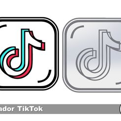 Slide7.JPG Download free STL file TIKTOK Cookie Cutter / TIKTOK COOKIE CUTTER • 3D print design, icepro10