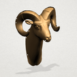 Goat - B02.png Download free STL file  Goat 01 • 3D printer object, GeorgesNikkei