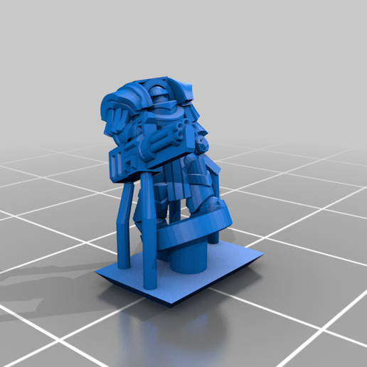 HeavySeigeArmour_Chaingun_Chain.png Download free STL file Galactic Crusaders - Heavy Siege Armour Heavy Weapons- 6-8mm • 3D printable template, MoonJammy