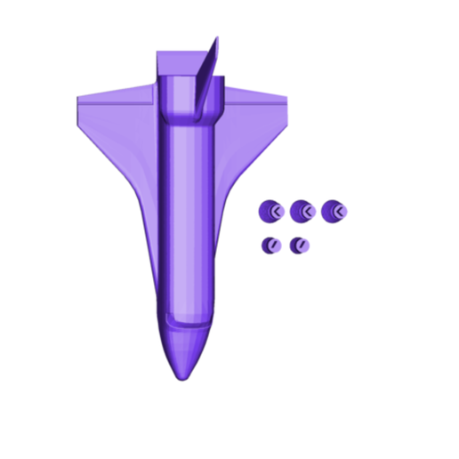 SPACE SHUTTLE.png Download free OBJ file Space Shuttle • 3D printing object, 3DBuilder