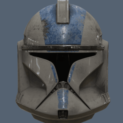 Clone Trooper Helmet Phase 1.png Télécharger fichier OBJ gratuit Clone Trooper Casque Casque Phase 1 Star Wars • Plan pour imprimante 3D, VillainousPropShop