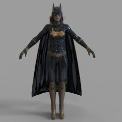 untitled.729.jpg Download STL file Batgirl Full Armor Wearable • Model to 3D print, 3dprintuniverse