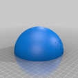 redmoon_south_1_6_10_7.png Download free STL file Red Moon scaled one in sixty million • Template to 3D print, tato_713