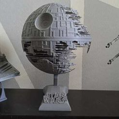 IMG-20210213-WA0002.jpg Download STL file Death Star 2 • 3D print template, o4saken