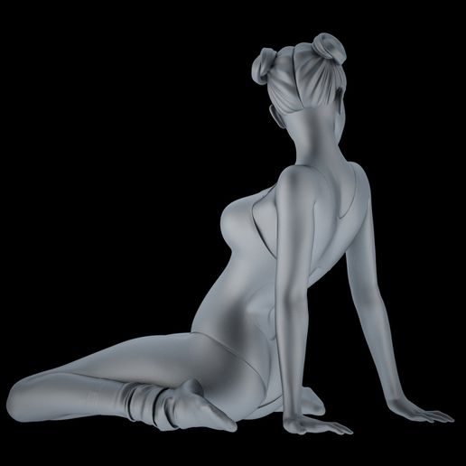 Sexy 3d printing 372 Preview 002.jpg Download free STL file Cute girl • 3D printer template, XXY2018