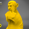 Babis_krysa_orange-Studio-1.985.png Download OBJ file Hrabis - Caricature of Czech premier • 3D print object, 3D-mon