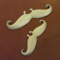movember2_display_large.jpg Download free STL file Moustaches are in on movember! • 3D printing model, Durbanarb