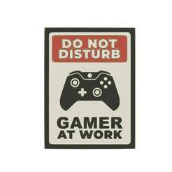 do-not-disturb-gamer-at-work-xbox.png Download STL file Do not Disturb Gamer at work xbox 2D sign • Design to 3D print, jwmustanggt