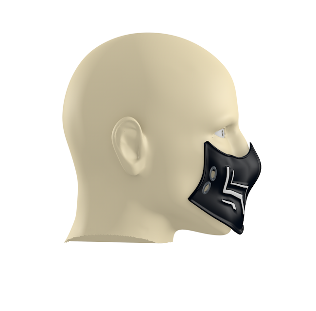 1.PNG Download free 3DS file New Chinstraps against the new coronavirus (COVID-19) #3DvsCOVID19 • 3D printing model, ronaldocc13