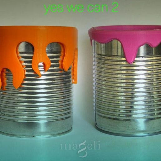 yes we can II.jpg Download STL file yes we can 2 • 3D printing object, mageli
