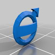 logo_AV.png Download free STL file rc truck 1/14 FH front body logo • 3D printable template, r083726