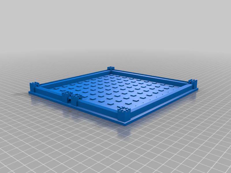 Cathedral_Board_-_6mm_Peg.png Download free STL file Cathedral Board Game v2 • Template to 3D print, Hardcore3D